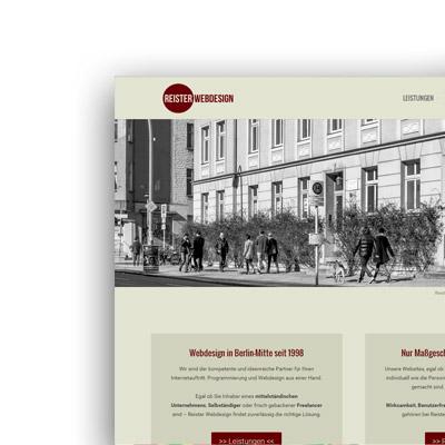 Reister Webdesign GmbH: www.reister.de
